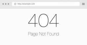 การตรวจสอบปัญหา 404 Error